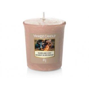 YANKEE CANDLE - WARM & COSY - votivní svíčka - 1 ks