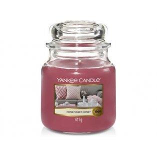 YANKEE CANDLE - HOME SWEET HOME - vonná svíčka - classic střední - 1 ks
