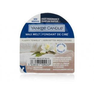 YANKEE CANDLE - FLUFFY TOWELS - vonný vosk do aromalampy - 1 ks