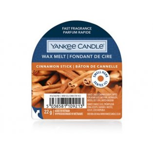 YANKEE CANDLE - CINNAMON STICK - vonný vosk do aromalampy - 1 ks