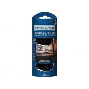 YANKEE CANDLE - BLACK COCONUT - náhradní náplň pro vůni do elektrické zásuvky  - 2 ks