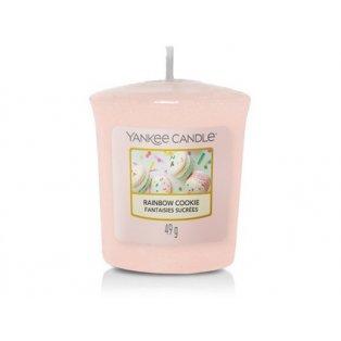 YANKEE CANDLE - RAINBOW COOKIE - votivní svíčka - 1 ks