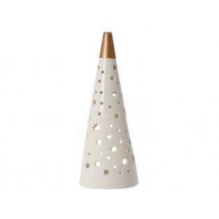 YANKEE CANDLE - CHRISTMAS LUMINARIES - svícen na čajovou svíčku - Stínohra malá - 1 ks