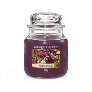 YANKEE CANDLE - MOONLIT BLOSSOMS - vonná svíčka - classic střední - 1 ks
