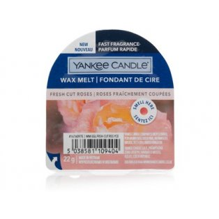 YANKEE CANDLE - FRESH CUT ROSES - vonný vosk do aromalampy - 1 ks