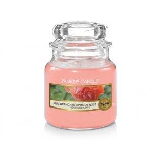 YANKEE CANDLE - SUN-DRENCHED APRICOT ROSE - vonná svíčka - classic malá - 1 ks