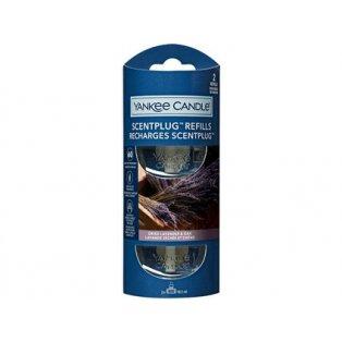 YANKEE CANDLE - DRIED LAVENDER & OAK - náhradní náplň pro vůni do elektrické zásuvky  - 2 ks