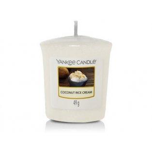 YANKEE CANDLE - COCONUT RICE CREAM - votivní svíčka - 1 ks