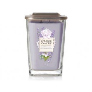 YANKEE CANDLE - SEA SALT & LAVENDER - elevation velká - 1 ks