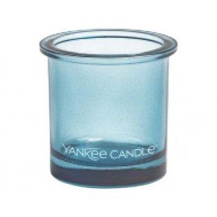 YANKEE CANDLE - POP TEA LIGHT - svícen na votivní svíčku - blue - 1 ks