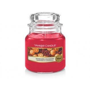 YANKEE CANDLE - MANDARIN CRANBERRY - vonná svíčka - classic malá - 1 ks