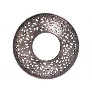 YANKEE CANDLE - SHERIDAN BRONZE PUNCHED METAL - Illuma lid - ozdobný prstenec - 1 ks