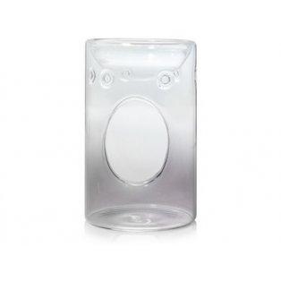 YANKEE CANDLE - SAVOY GREY GLASS  - aromalampa - 1 ks
