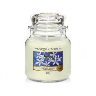 YANKEE CANDLE - MIDNIGHT JASMINE - vonná svíčka - classic střední - 1 ks