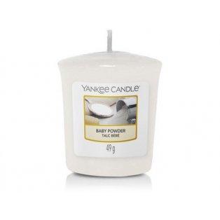 YANKEE CANDLE - BABY POWDER - votivní svíčka - 1 ks