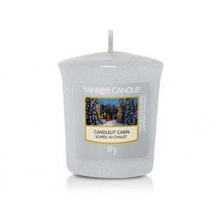 YANKEE CANDLE - CANDLELIT CABIN - votivní svíčka - 1 ks
