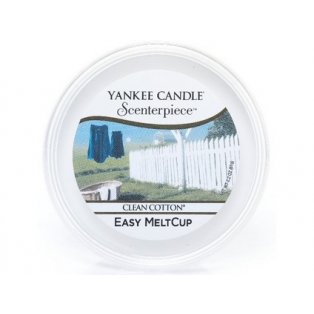 YANKEE CANDLE - CLEAN COTTON - Scenterpiece vosk - 1 ks