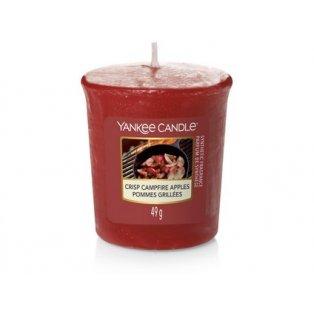 YANKEE CANDLE - CRISP CAMPFIRE APPLES - votivní svíčka - 1 ks