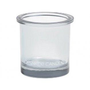 YANKEE CANDLE - POP TEA LIGHT - svícen na votivní svíčku - clear - 1 ks