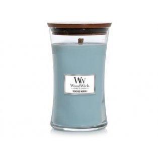 Woodwick svíčka - sklo velké/Seaside Neroli