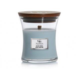 Woodwick svíčka - sklo malé/Seaside Neroli