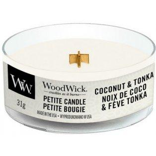 Woodwick svíčka - petite/Coconut & Tonka