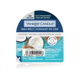 YANKEE CANDLE - COCONUT SPLASH - vonný vosk do aromalampy - 1 ks