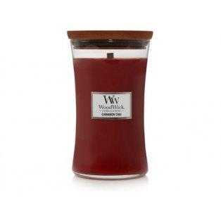 Woodwick svíčka - sklo velké/Cinnamon Chai 11/18;12/20