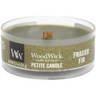 Woodwick Frasier Fir svíčka petite