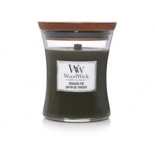 Woodwick svíčka - sklo střední/Frasier Fir 12/20