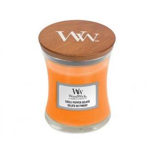 Woodwick svíčka - sklo malé/Chilli Pepper Gelato
