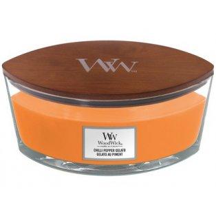 Woodwick Chilli Pepper Gelato svíčka loď