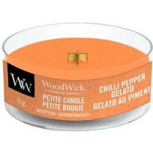 Woodwick Chilli Pepper Gelato svíčka petite