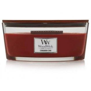 Woodwick svíčka - loď/Cinnamon Chai 11/18;12/20