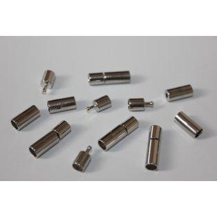 Bajonetové zapínání - platinové - 17,5 x 5 mm - 1 ks