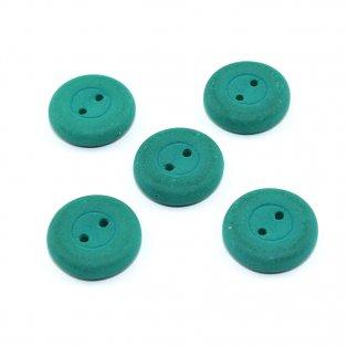 Knoflík Estrela NEON - smaragdový  - ∅ 16 mm- 1 ks