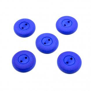 UV Knoflík - ∅ 16 mm - modrý - 1 ks