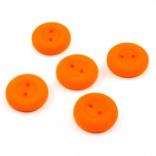 UV Knoflík - ∅ 16 mm - oranžový - 1 ks