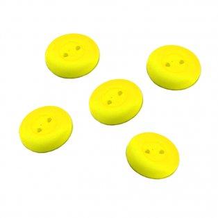 UV Knoflík - ∅ 16 mm - žlutý - 1 ks