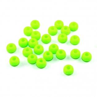 Korálky Estrela NEON - fluorescenčně zelené - ∅ 5,5 mm - 10 ks