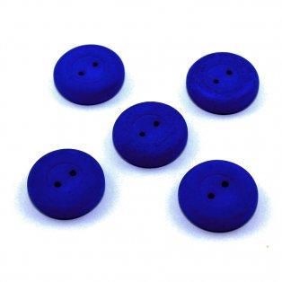 Knoflík Estrela NEON - královsky modrý - ∅ 16 mm - 1 ks