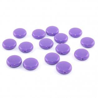 Akrylové lentilky - fialové - typ A - 14 x 5 mm - 10 ks