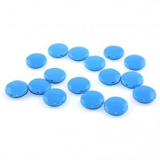 Akrylové lentilky - modré - typ B - 14 x 5 mm - 10 ks