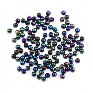Akrylové korálky broušené - barevné - ∅ 6 mm - 10 ks