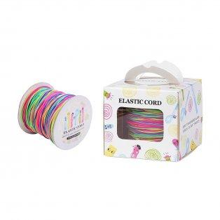Nylonové vlákno - elastické - barevné - ∅ 1 mm - 100 m - 1 ks