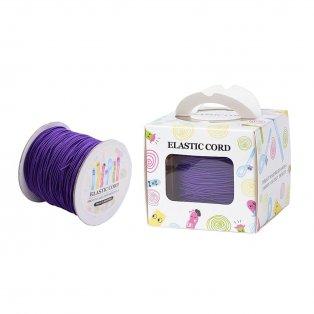 Nylonové vlákno - elastické - fialové - ∅ 1 mm - 100 m - 1 ks