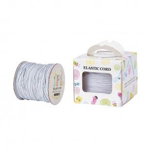 Nylonové vlákno - elastické - bílé - ∅ 1 mm - 100 m - 1 ks