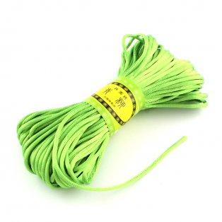 Saténová šňůra - zelená - ∅ 2 mm - 20 m - 1 ks