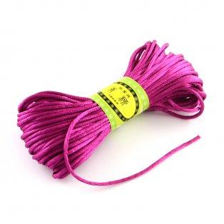 Polyesterová šňůra - fuchsiová - ∅ 2 mm - 20 m - 1 ks