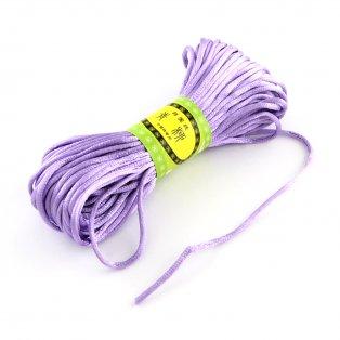 Polyesterová šňůra - šeříková - ∅ 2 mm - 20 m - 1 ks